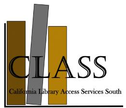 CLASS Event: Registration Form