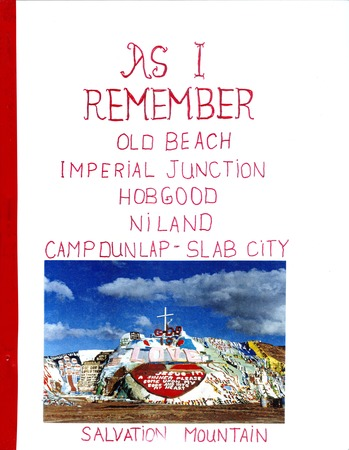 "Slab City: Cover of ""As I Remember"""