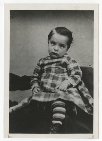Ed Fletcher as a young child