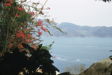 [View of sea in Mexican harbor]