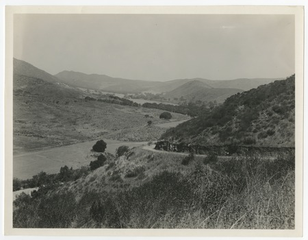 View of San Jose Valley (site of Warner's Ranch)