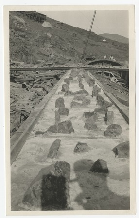 Construction of Lake Hodges Dam