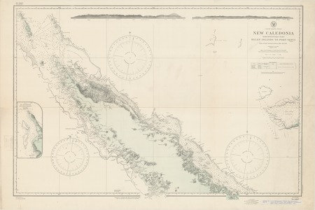 South Pacific Ocean : New Caledonia : northwestern part Belep Islands to Port Nepu (Mueo)