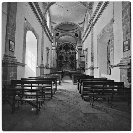 Interior of Misión San Ignacio