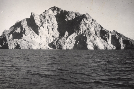 Plate 1. Fig. 2 Shepard. Typical Marine Cliffs near Guaymas. They have been partly submerged and have deep water at their ...