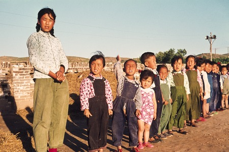 Young Kids in Rural North China