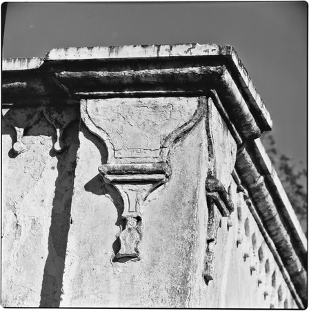 Architectural detail of building in Álamos