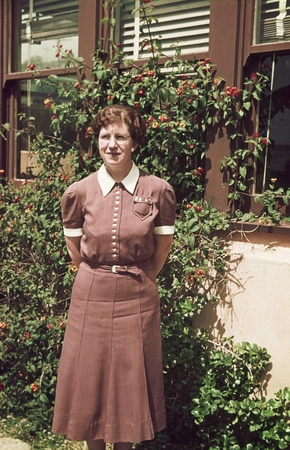 Easter Ellen Cupp (1904-1999) was the first woman in the United States to receive a doctorate in oceanography, in 1934 fro...