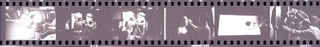 Ping: Film documentation: Film strip showing actor Maro Sekiji