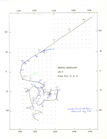 Indopac Expedition Leg 8