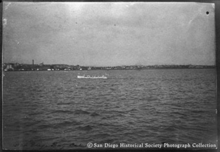 [Rowing on San Diego Bay]