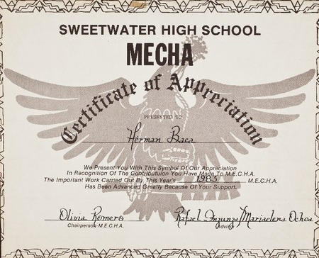 Sweetwater high school mecha certificate of appreciation sweetwater high school mecha certificate of appreciation yadclub Images