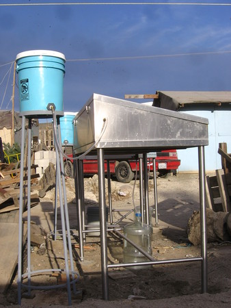 Dirty Water Initiative: water purifier installed in Tijuana community