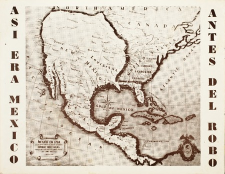 Mexico Map 1794.Mexico Map In 1794
