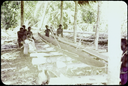 Canoe making