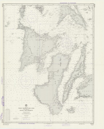 Masbate Philippines Map.Philippines Panay Negros And Cebu With Parts Of Bohol And Masbate