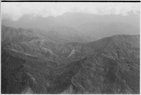 Mountains, aerial view