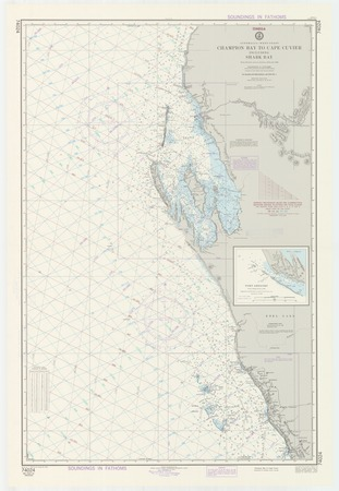 Australia West Coast Map.Australia West Coast Champion Bay To Cape Cuvier Including Shark