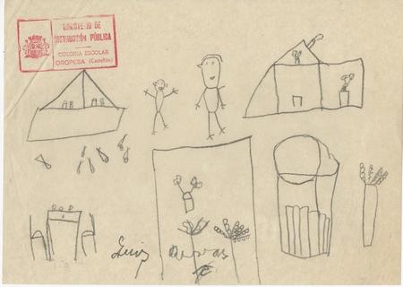 Childrens Drawings Spanish Civil War