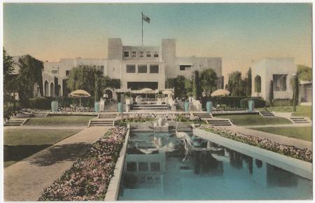 Samarkand Persian Hotel Santa Barbara California Library Digital Collections Uc San Diego Library