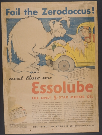 Standard Oil Company - Essolube advertisement