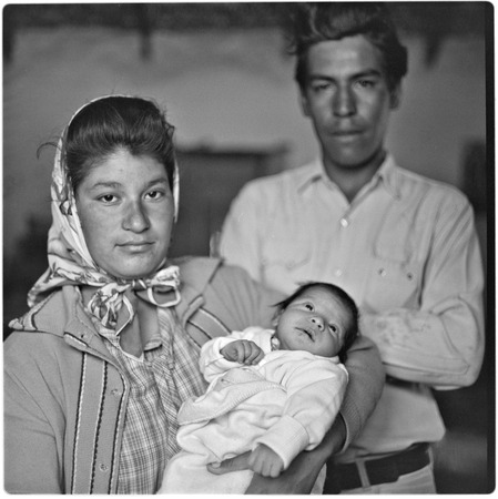 Adolfo Gaxiola MacLish, wife and Alfredo (new son) at Rancho Compostela