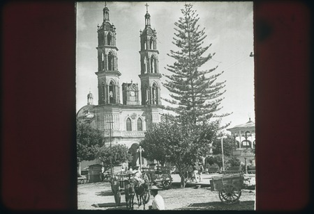 Cathedral in Tepic