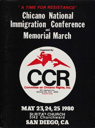 Chicano National Immigration Conference and Memorial March