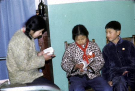 Bao-Shen Family Children Studying at Home