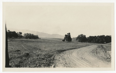 Unpaved road at Warner's Ranch