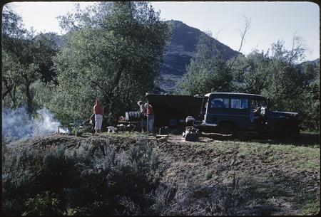 Camp Site At Rancho Tepí