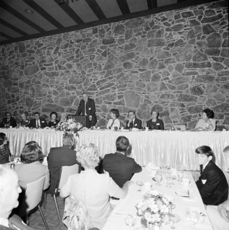 [Inauguration dinner of UCSD Chancellor William J. McGill, cApril 11, 1969]