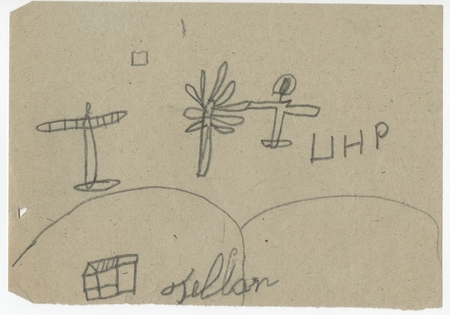 Children's Drawings, Spanish Civil War