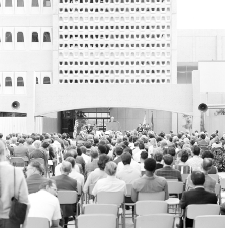 [Dedication of UCSD Basic Science Building, cNovember 24, 1969]