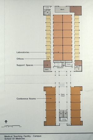 Medical Teaching Facility: floor plan