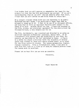 Ping correspondence letter to samuel beckett from roger reynolds ping correspondence letter to samuel beckett from roger reynolds page 2 thecheapjerseys Images