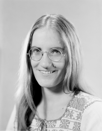 Tanya Maria Atwater, Scripps Institution of Oceanography, November 21, 1972