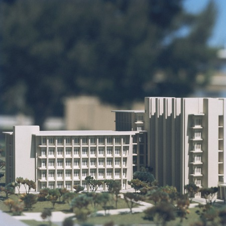 John Muir College: model: Electrophysics Research Building