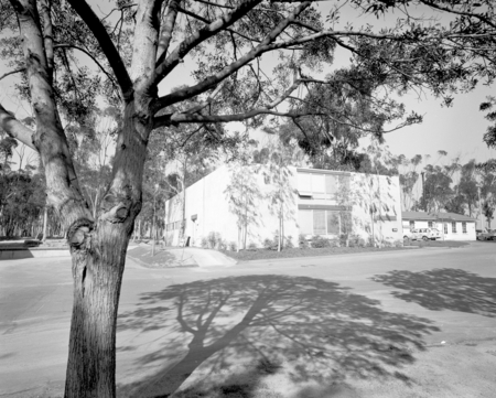 Buildings of Revelle College on the campus of UCSD. December 28, 1970.