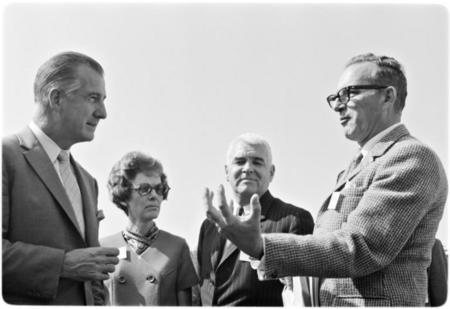 Vice President Spiro Agnew's visit to Scripps Institution of Oceanography