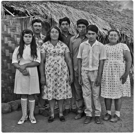 Guillermo Villavicencio Rosas family at Rancho Pie de la Cuesta