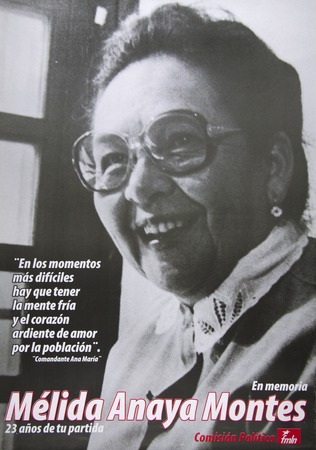 En Memoria De Mélida Anaya Montes Library Digital