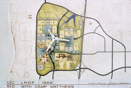 UC San Diego long range development plan, with Camp Matthews