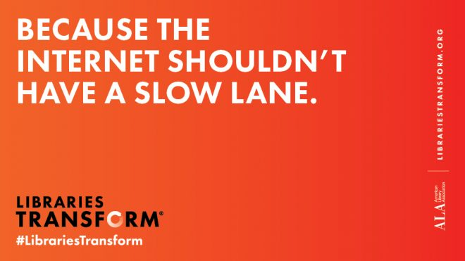 text: because the internet shouldn't have a slow lane