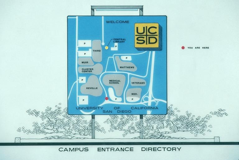 Campus Entrance Directory Map