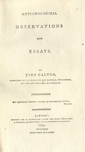 meteorological observations and essays Buy meteorological observations and essays (9781108184489): nhbs - john dalton, cambridge university press.
