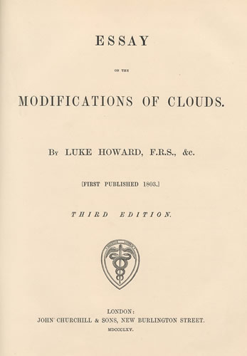 essay on the modification of clouds Would you coat the ocean s surface with vegetable oil to protect against a hurricane how about injecting clouds with a special chemical to produce rain.